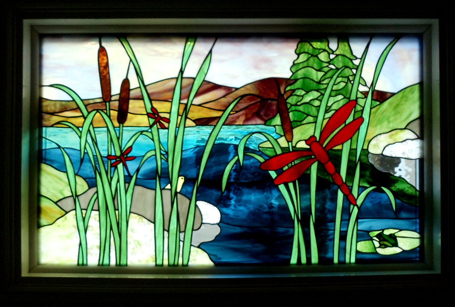 Stained Glass Visions In Glass